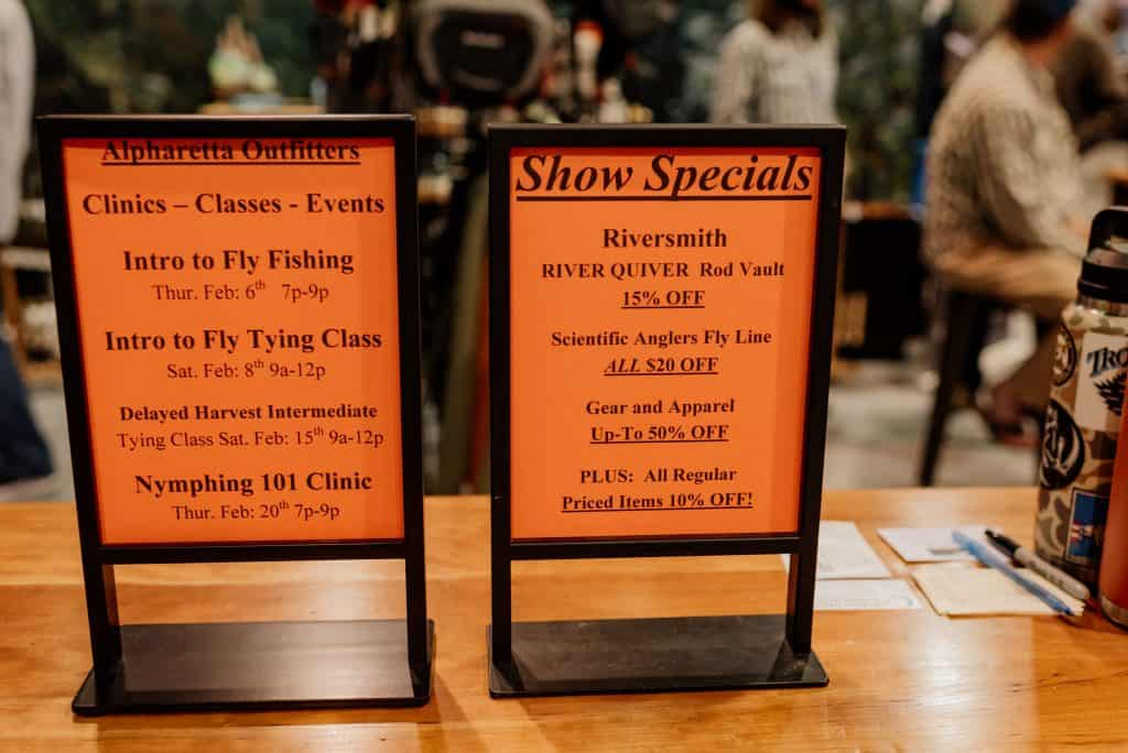 Atlanta Fly Fishing Show